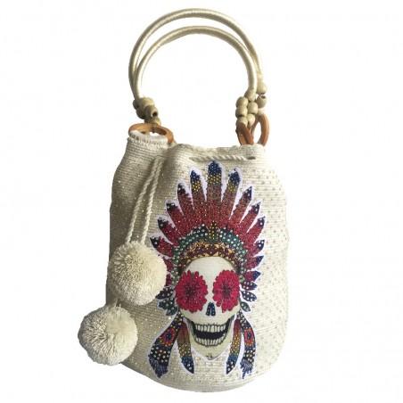 Bolso Wayuu Decorado