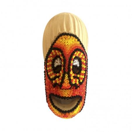 Máscara Ancestral Pequeña con Chaquiras