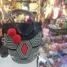Bolso Wayuu Clasico con Cuero