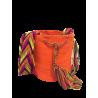 Mochila Wayuú Unicolor pequeña
